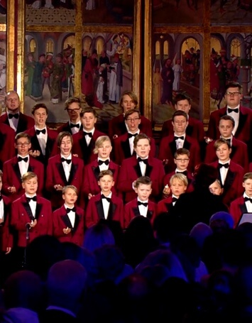 Concert of Tallinn Boys' Choir in St Nicholas' Church